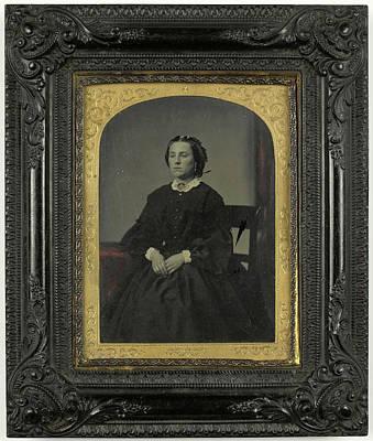 Portrait Woman, Anonymous Art Print