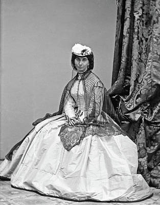 Photograph - Portrait Woman, C1860 by Granger