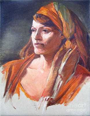 Painting - Portrait Workshop With David Leffel by Kathryn Donatelli