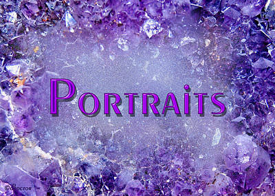 Mixed Media - Portraits by Donna Proctor