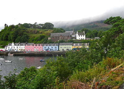Photograph - Portree Harbor by Denise Mazzocco