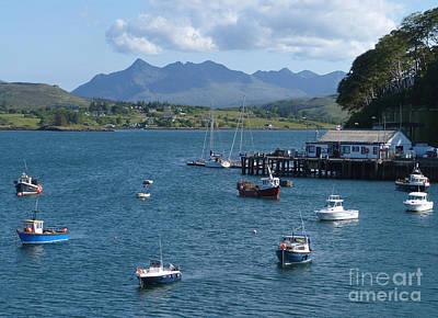 Portree Harbour - Isle Of Skye Art Print