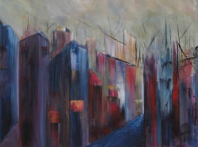 Painting - Port's Passage by Roberta Rotunda
