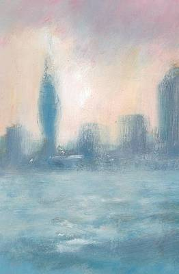 Painting - Portsmouth Dawn Part One by Alan Daysh