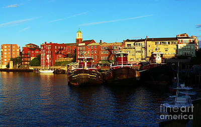Portsmouth In The Afternoon Art Print