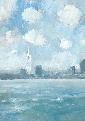 Painting - Portsmouth Part One by Alan Daysh