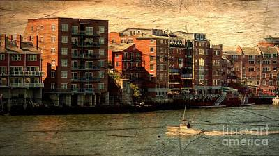 Photograph - Portsmouth River View by Marcia Lee Jones