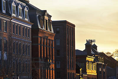 Portsmouth Rooftops Art Print by Eric Gendron