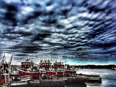 Portsmouth Tugboats Art Print