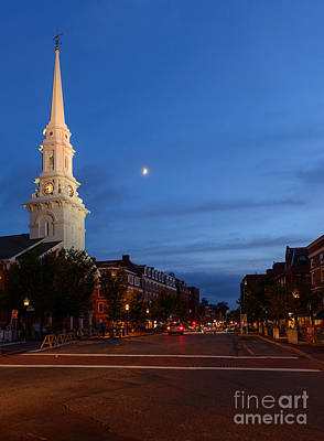 Photograph - Portsmouth's North Church by Sharon Seaward