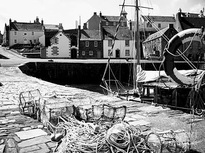 Portsoy Harbour 1 Original