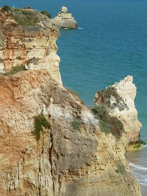 Ben Weinberg Photograph - Portugal Algarve - Seascape 5 by Benjamin Weinberg