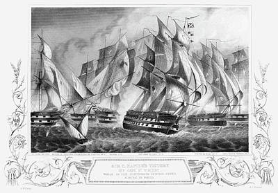Portugal Battle, 1833 Art Print by Granger