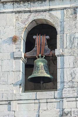 Saint Sebastian Photograph - Portugal, Bronze Bell, Igreja De Sao by Jim Engelbrecht
