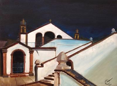 Painting - Capela De Nossa Senhora Dos Covoes by Rami Besancon