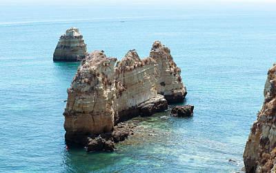 Photograph - Portugal Cliffs by Iryna Soltyska