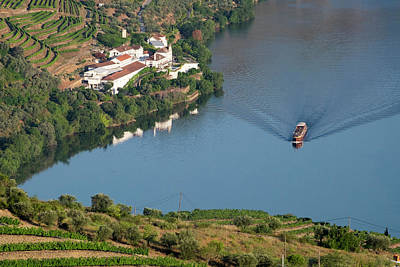 Portugal, Douro Valley, Douro River Print by Emily Wilson