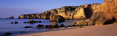 Lagos Photograph - Portugal, Lagos, Algarve Region by Panoramic Images
