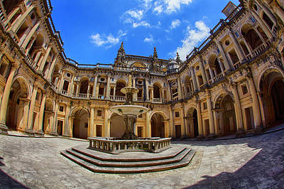 Portugal, Tomar, The Convent Art Print by Terry Eggers