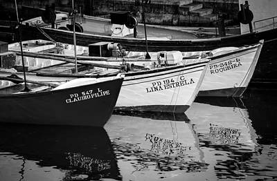 Photograph - Portuguese Fishing Boats by Eduardo Tavares