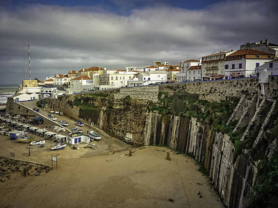 Photograph - Portuguese Fishing Village by Dave Hall