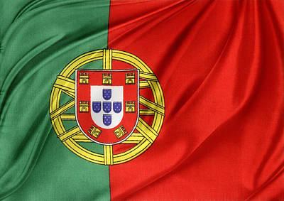 Portuguese Flag Art Print