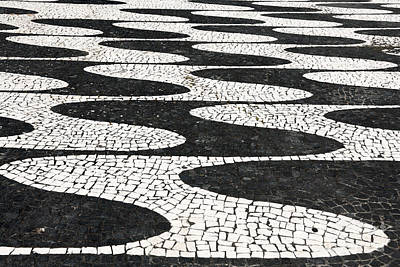 Ada Photograph - Portuguese Pavement by Gaspar Avila