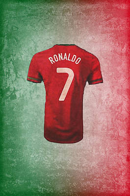 Cristiano Ronaldo Photograph - Portuguese Sweater by Paulo Goncalves