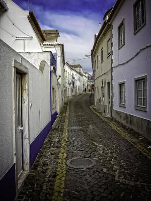 Photograph - Portuguese Village Street by Dave Hall