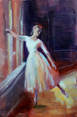 Painting - Pose II by Susan Bradbury