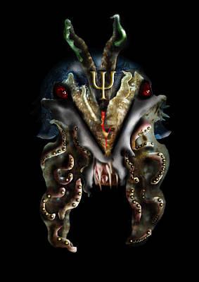 Cuttlefish Digital Art - Poseidons Warriors Xvi by Dray Van Beeck