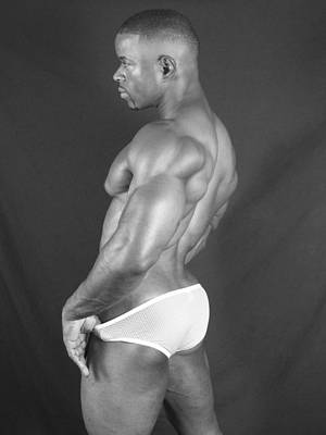 Photograph - Poser In Briefs by Jake Hartz