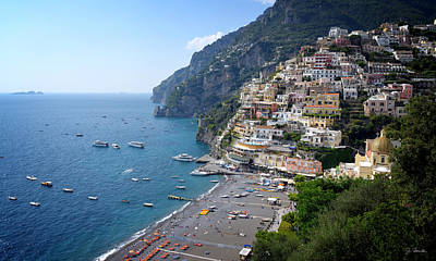 Photograph - Positano By The Sea No. 1 by Joe Bonita
