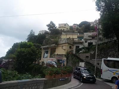 Digital Art - Positano Italy I by Shesh Tantry