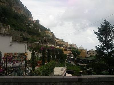 Positano Italy II Art Print by Shesh Tantry