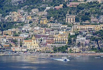 Photograph - Positano by Keith Armstrong
