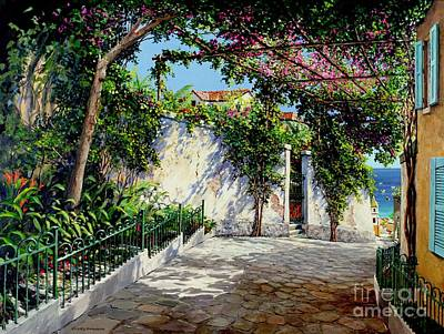 Positano  Art Print by Michael Swanson