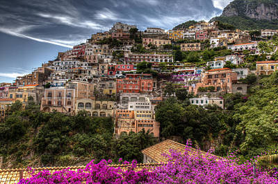 Photograph - Positano by Uri Baruch