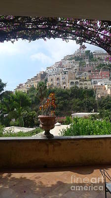 Positano - View Art Print
