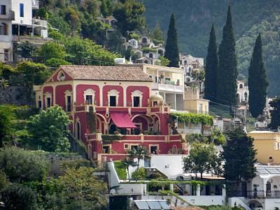 Positano Villa Original by Marilyn Dunlap