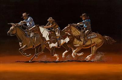 Painting - Posse by Hugh Blanding