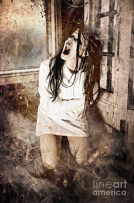 Haunted House Photograph - Possessed by Jt PhotoDesign
