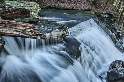 Photograph - Possum Creek Cascade by Barry Cole
