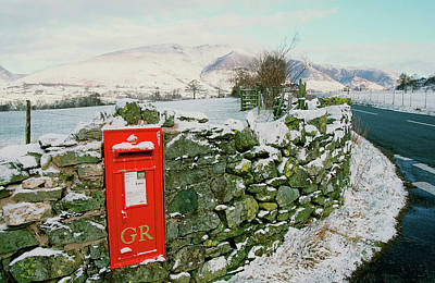 Vale Photograph - Post Box In St Johns In The Vale by Ashley Cooper