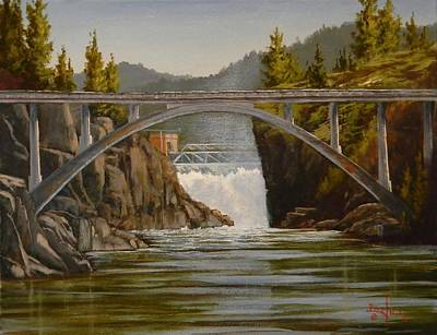 Painting - Post Falls by Paul K Hill