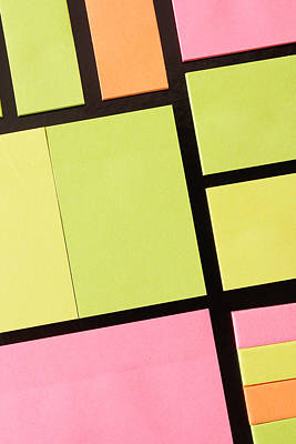 Post-it Notes Art Print by Tom Gowanlock