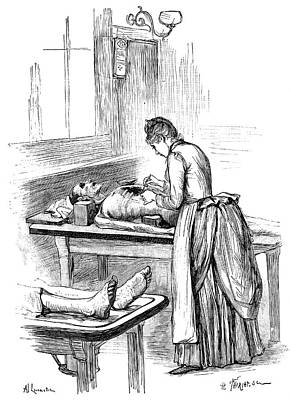 Post-mortem Examination, 1890 Print by Science Photo Library
