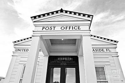 Post Office Art Print by Scott Pellegrin