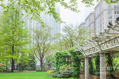 Photograph - Post Office Square Pergola by Susan Cole Kelly