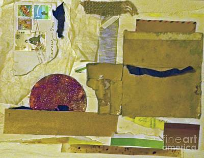 Mixed Media - Postage by Patricia  Tierney